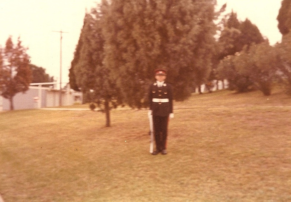 1973 325 Officer Cadet John Hunt